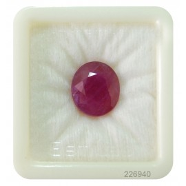 African Ruby Gemstone Fine 15+ 9.2ct