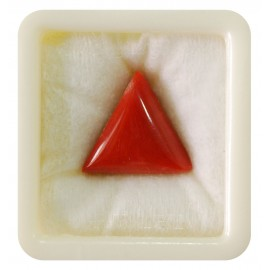 Certified Red Coral Premium 22+ 13.35ct