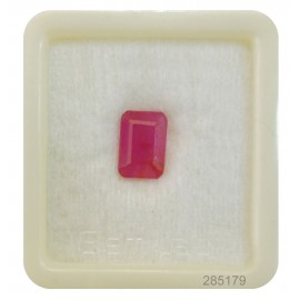 Certified Ruby Gemstone Fine 5+ 3.3ct