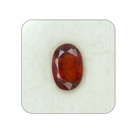 Hessonite Gemstone Fine 5+ 3.1ct