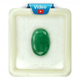 Natural Certified Emerald Fine 9+ 5.65ct