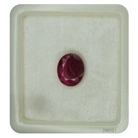 Burma Ruby Gemstone Sup-Premium 5+ 3.4ct