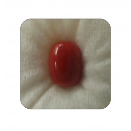 Certified Red Coral Premium 9+ 5.4ct